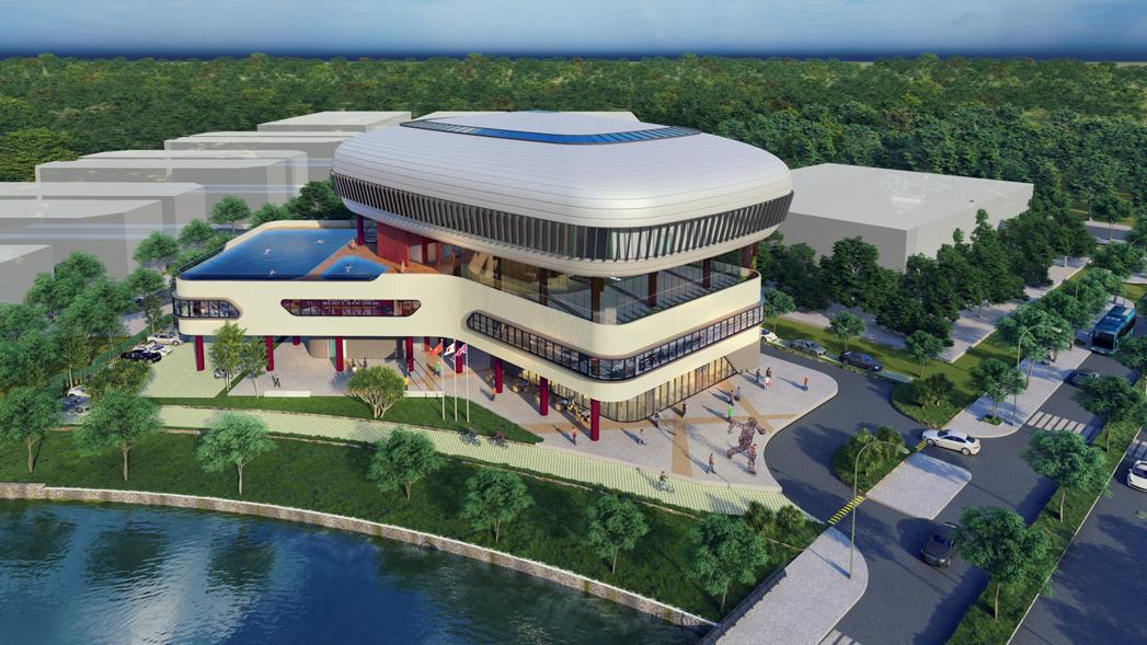 Trung tâm thể dục thể thao thuộc dự án Aqua City